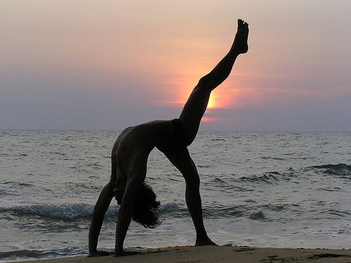 Get a low-impact workout with yoga (image from Eric Lon on Flickr)