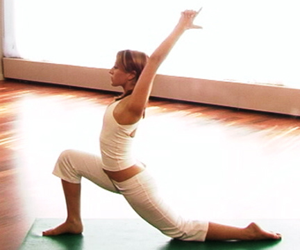 Practicing Yoga to Ambient Music (image from myyogaonline on Flickr)
