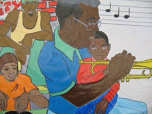 Jazz influences my musical style (image from yngrich on Flickr)