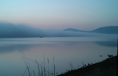 Calm waters at dawn (image from joka2000 on Flickr)