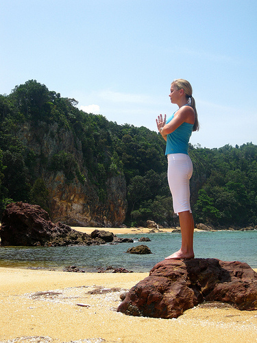 Serenity is within reach (image from lululemon athletica on Flickr)