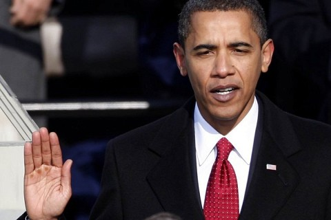 The Huffington Post was there when Obama was sworn in