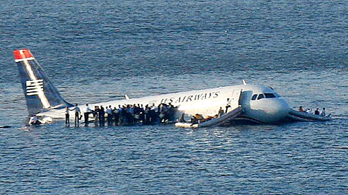 One of the first to report on the Hudson River airplane crash