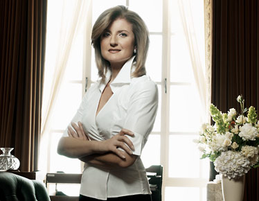 Ariana Huffington founded The Huffington Post in 1995